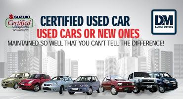 Buy Suzuki Used Cars in Karachi - Danish Motors